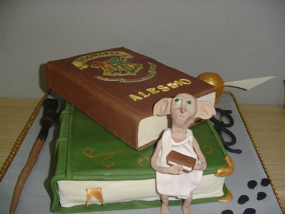 Incredibili torte harry potter best seller da divorare for Decorazioni torte harry potter