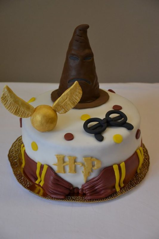 torte harry potter cakemania dolci e cake design. Black Bedroom Furniture Sets. Home Design Ideas