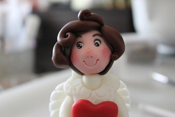 angelo in pasta di zucchero