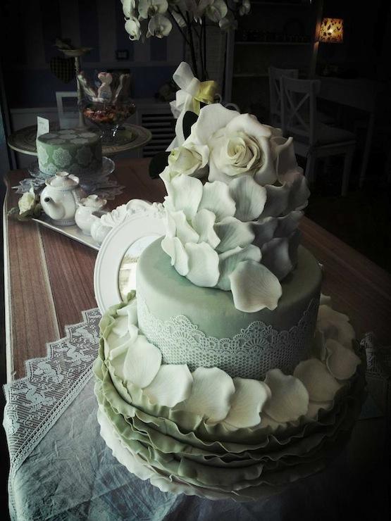 Torte shabby chic cakemania dolci e cake design for Design a 2 piani