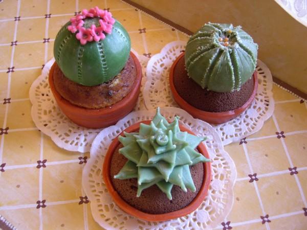 cactus in pasta di zucchero