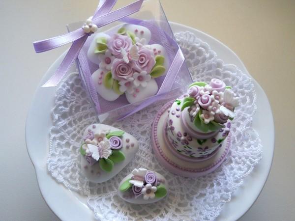 confetti decorati matrimonio cakedesign