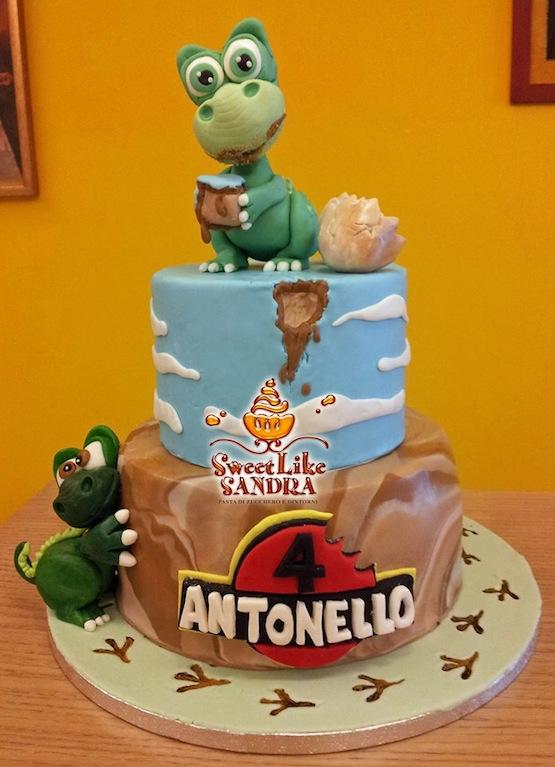 George Dinosaur Cake Topper