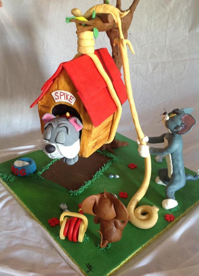Torte Tom Amp Jerry Cakemania Dolci E Cake Design