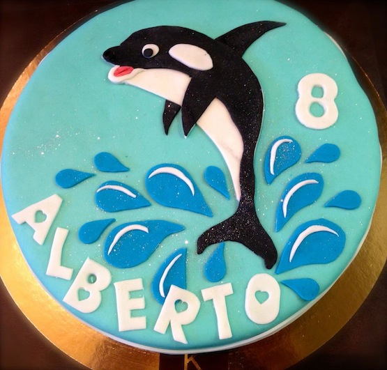 Killer Whale Cake Pictures