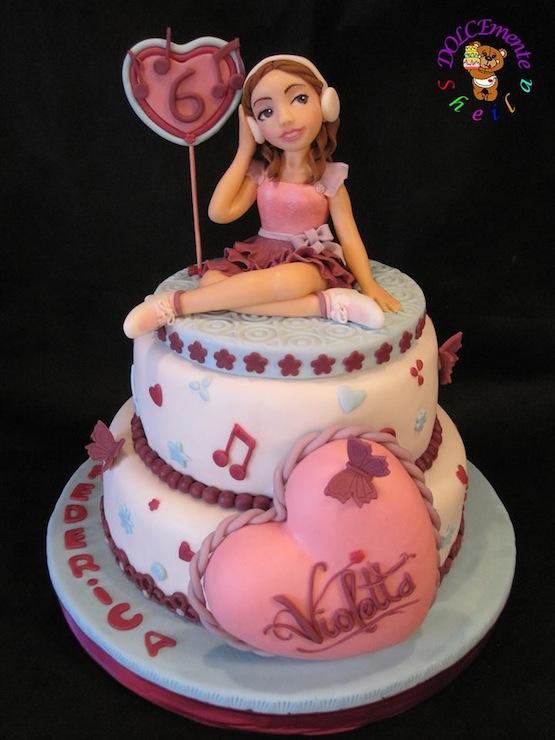 Torta Cake Design Violetta : Torte