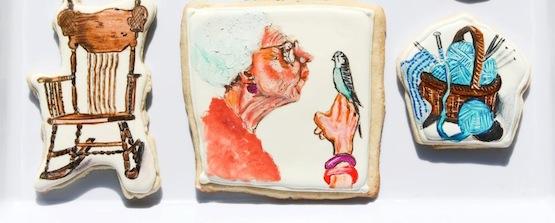 © Sugar Rush Custom Cookies: ritratto di sua nonna e delle sue passioni