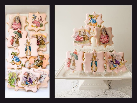 © Sugar Rush Custom Cookies biscotti Beatrix Potter