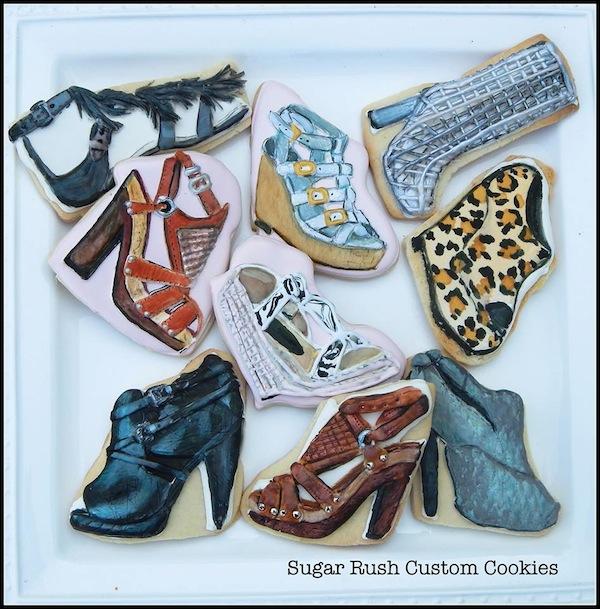 © Sugar Rush Custom Cookies biscotti scarpe