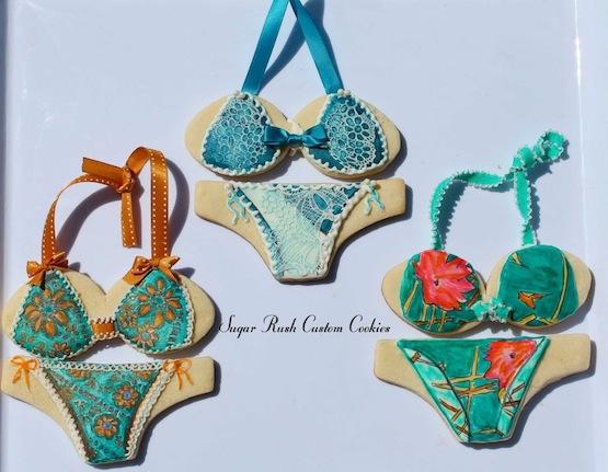 Sugar Rush Custom Cookies biscotti vestito cookie costume da bagno bikini