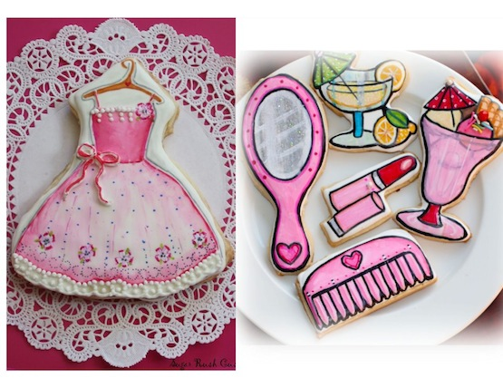 Sugar Rush Custom Cookies biscotti vestito cookie princess dress