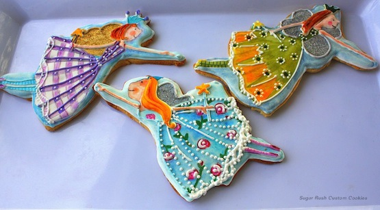 Sugar Rush Custom Cookies biscotti vestito cookie2
