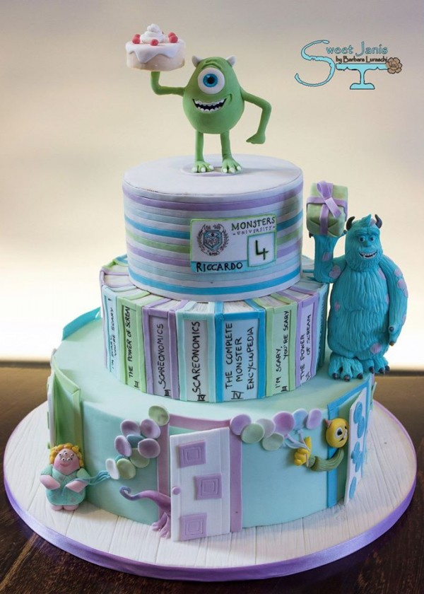 Torte Monsters Amp Co E Torte Monsters University