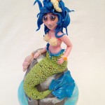 La sirena n°1 © Red Carpet Cake Design