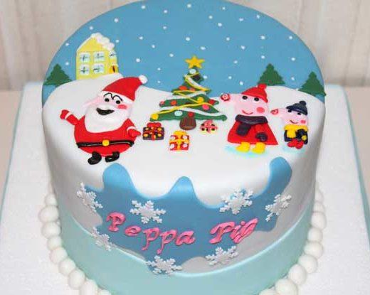 Peppa Pig Il Compleanno Di Natale.Peppa Pig Cakemania Dolci E Cake Design