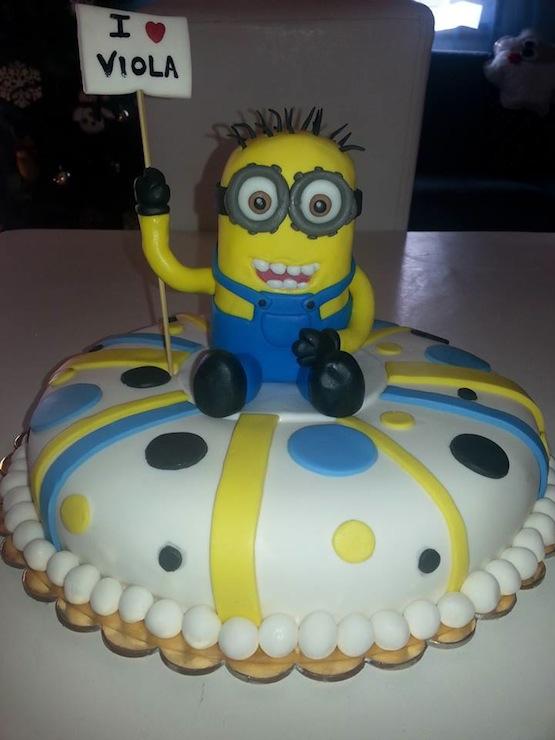 Torte Minions E Biscotti E Cupcake Di Cattivissimo Me