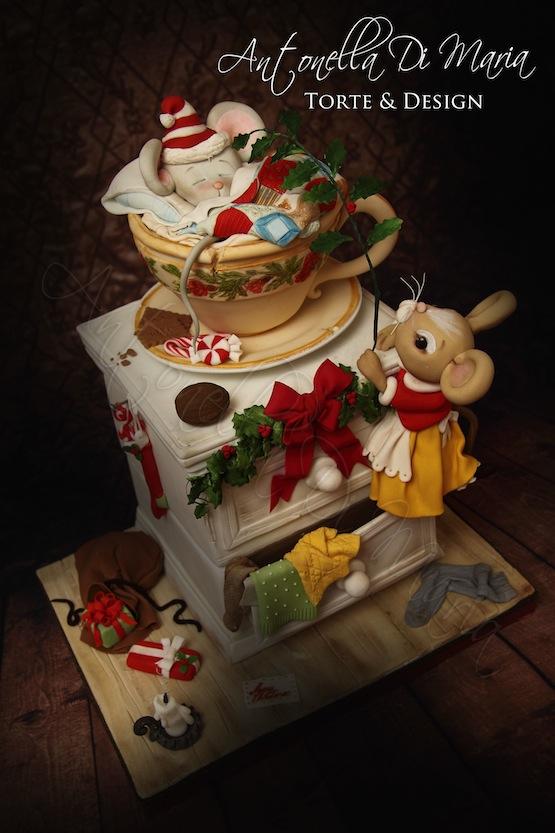 Topolini natale 2013 4 by antonella di maria torte & design