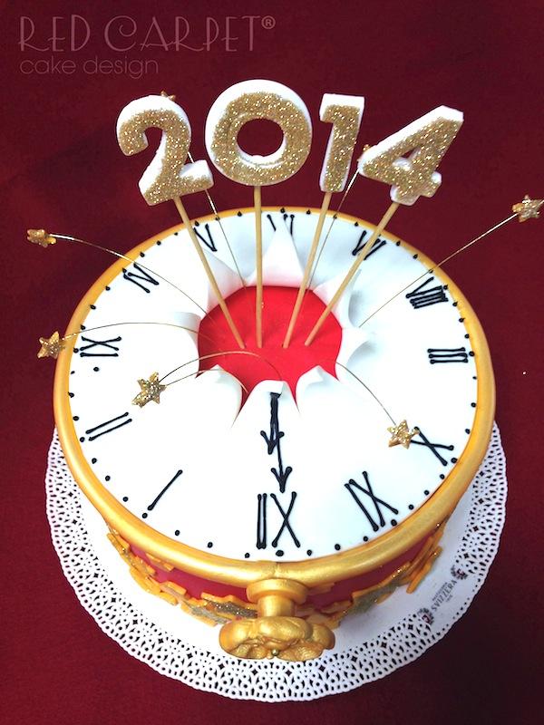 27 Dicembre 2013 torta capodanno