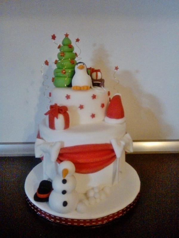 Cake Design Ricette Natale : torta natale Benedetta Giovannoni - Cakemania, dolci e ...
