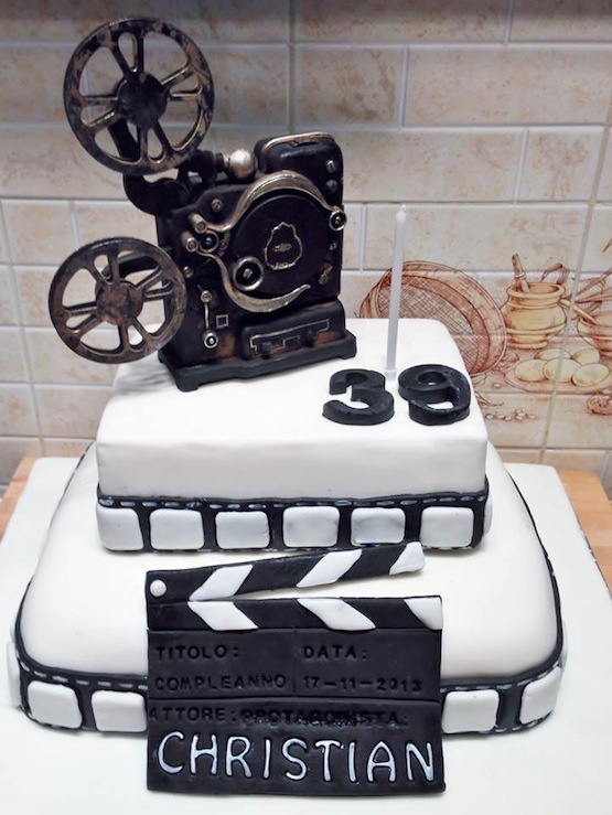 Torte Cinema Gli Attori E I Film In Versione Cake Design