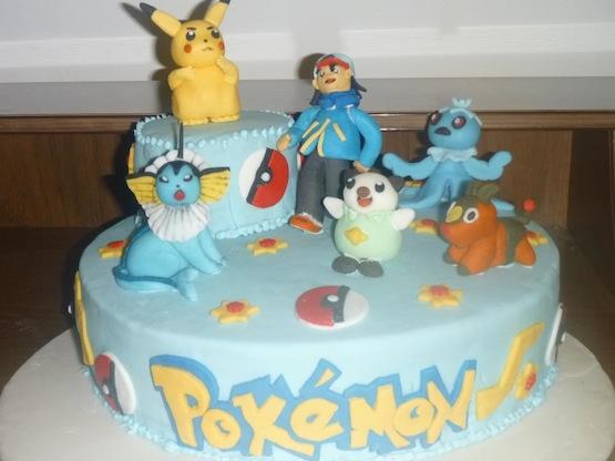 Pokemon Designer Cake
