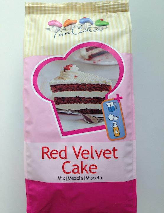 Design Of Red Velvet Cake : Red Velvet Cake Mix di Fun Cakes - Cakemania, dolci e cake ...
