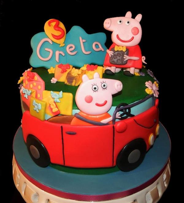 Le 10 Torte Di Peppa Pig Più Belle Cakemania Dolci E Cake Design