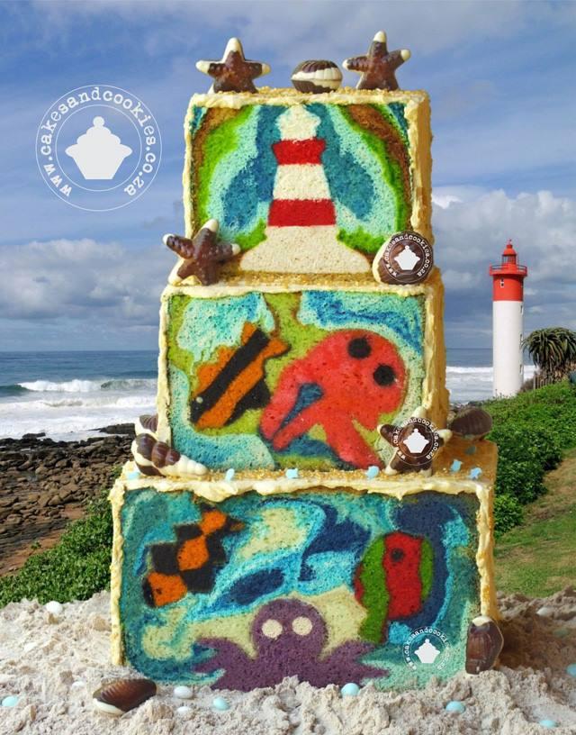 E' solo una sponge cake questa incredibile creazione postata da Cakes And Cookie!