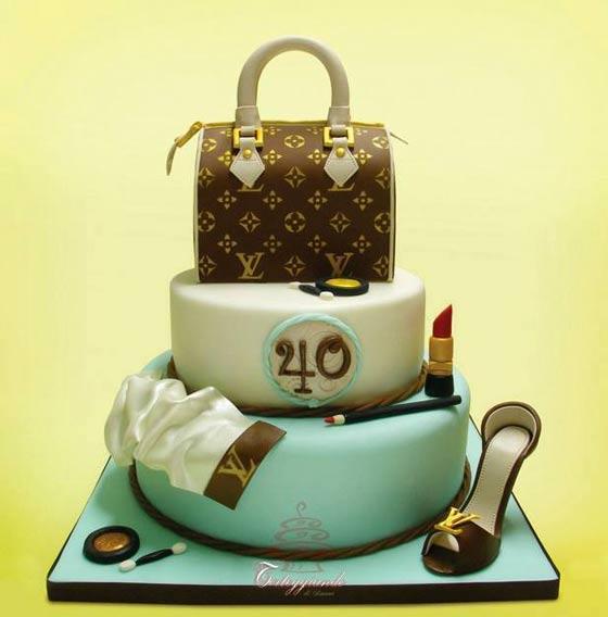 Gucci Birthday Cake Photos