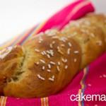 treccia pane dolce