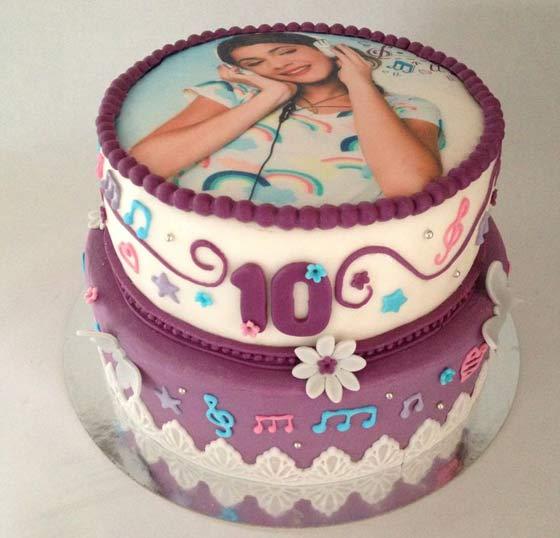 Torta Cake Design Violetta : Torta di Violetta