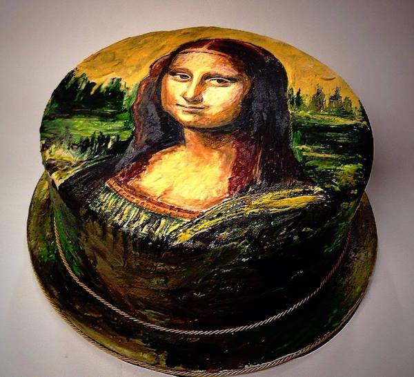 Torte Ispirate A Grandi Opere D Arte