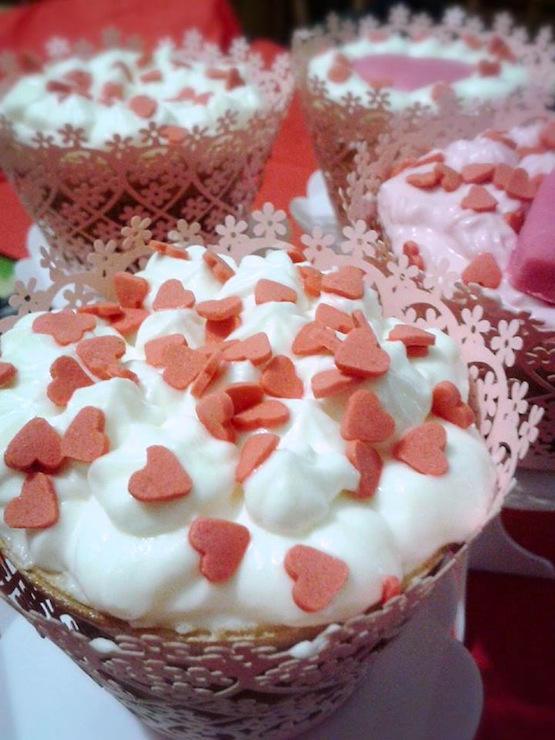 cupcake cuori