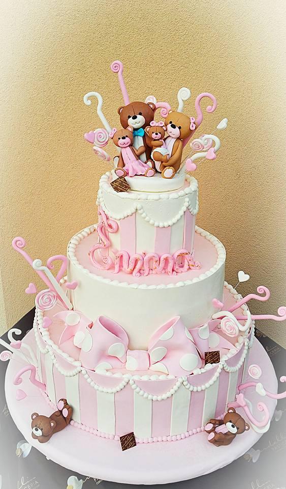 Torta compleanno 1 anno   idee per torte decorate con orsetti e