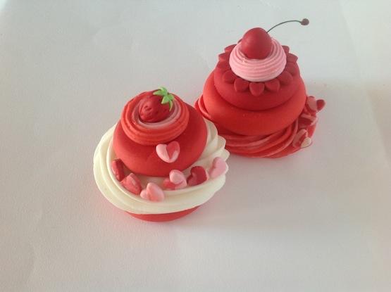 heart cupcake saint valentine