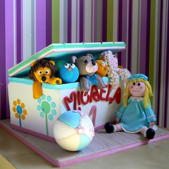 Torta compleanno 1 anno idee per torte decorate con for Idee per torte di compleanno