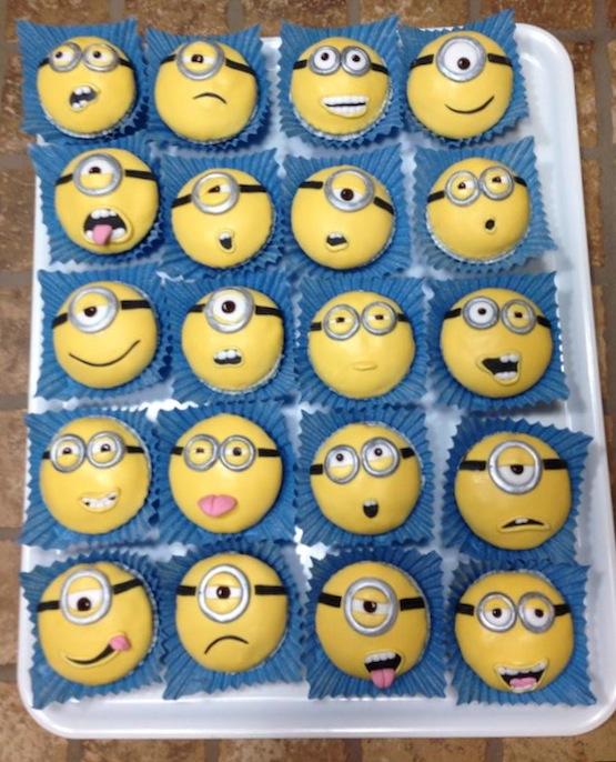 Minions Fondant Cake Tutorial
