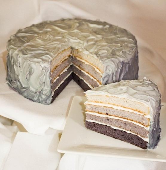torta a strati 50 sfumature di grigio