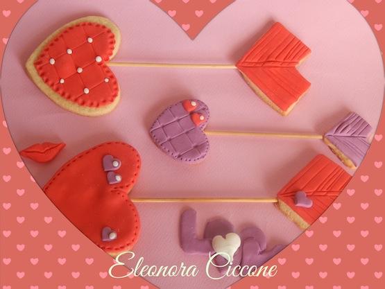 Biscotti freccia di Cupido @Eleonora Ciccone