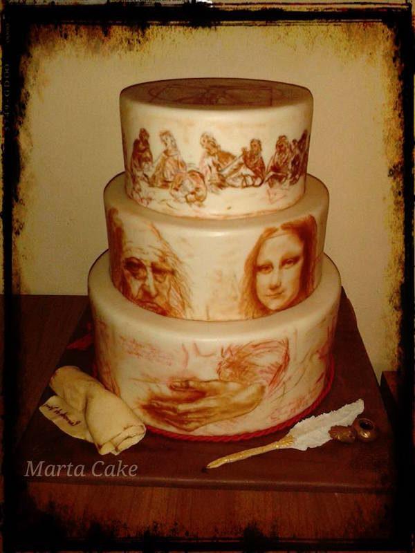 torta leonardo da vinci cake