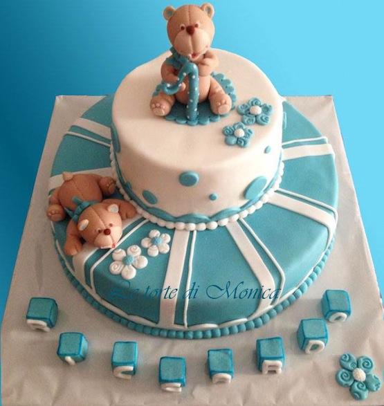 Molto Torta compleanno 1 anno - idee per torte decorate con orsetti e  GD57