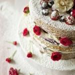 torta frutta fiori san valentino