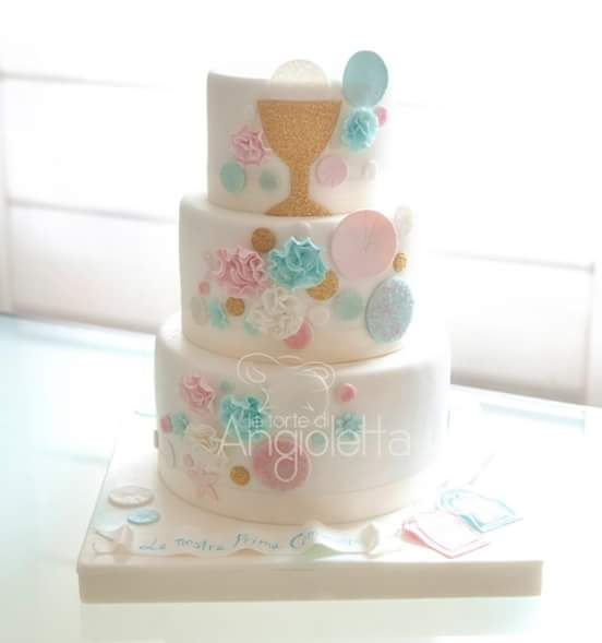 Topper Cake First Communion