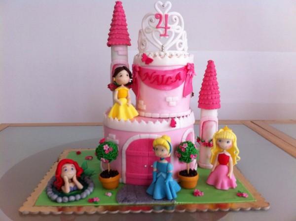 torta castello principesse