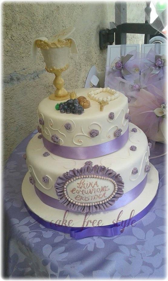 Attrezzatura Per Cake Design Torino : Torte per la prima comunione... ma anche biscotti e cupcake