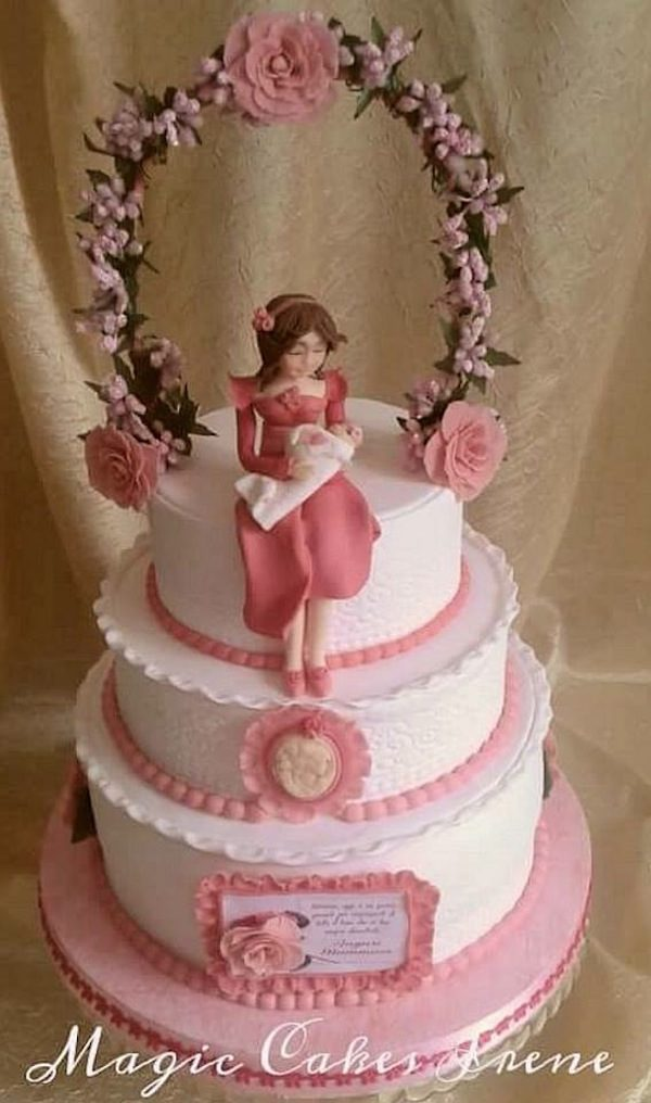abbastanza Torta battesimo: idee di torte di cake design per maschio e femmina GA49
