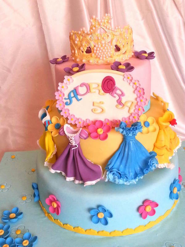 Princess Birthday Cake Decorations