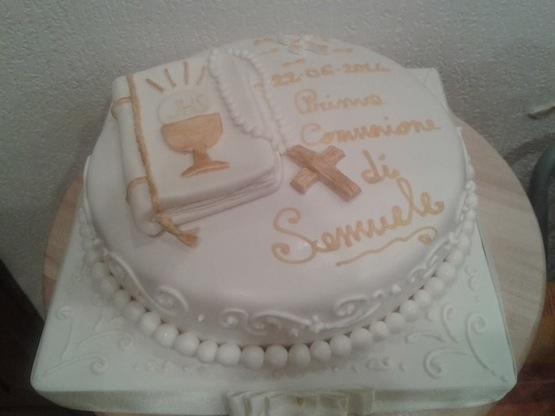 torta per prima comunione 11