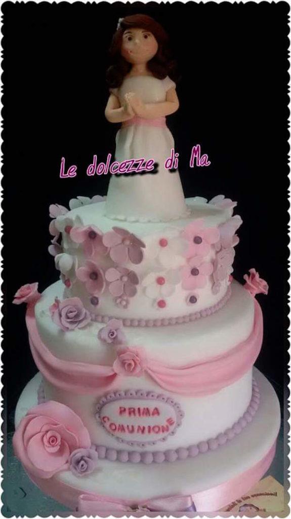 torta comunione bambina