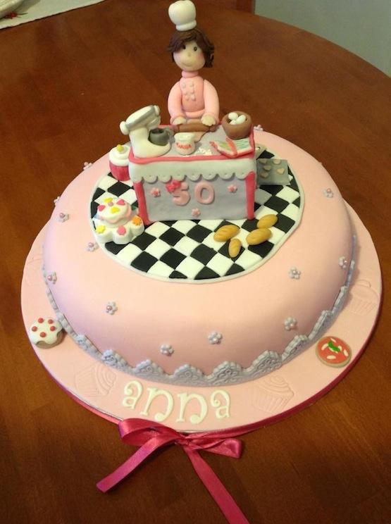 My Cake Design Renato : Torta per una pasticcera cake designer ? Paola Colacioppo